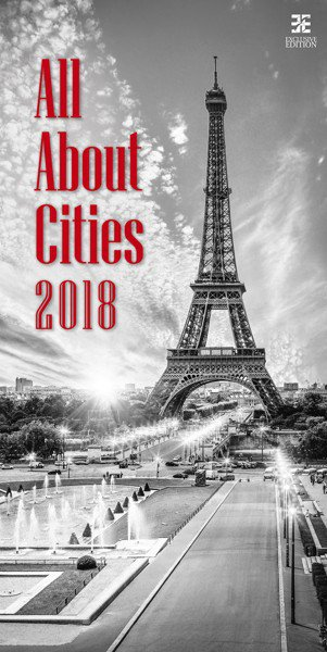 Wall calendars 2018 - All About Cities